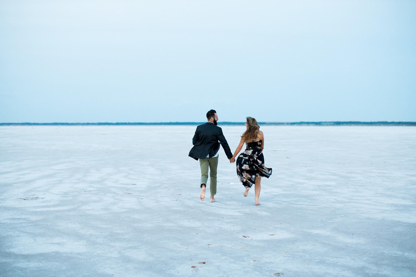 Engagement shoot at the Salt Plains